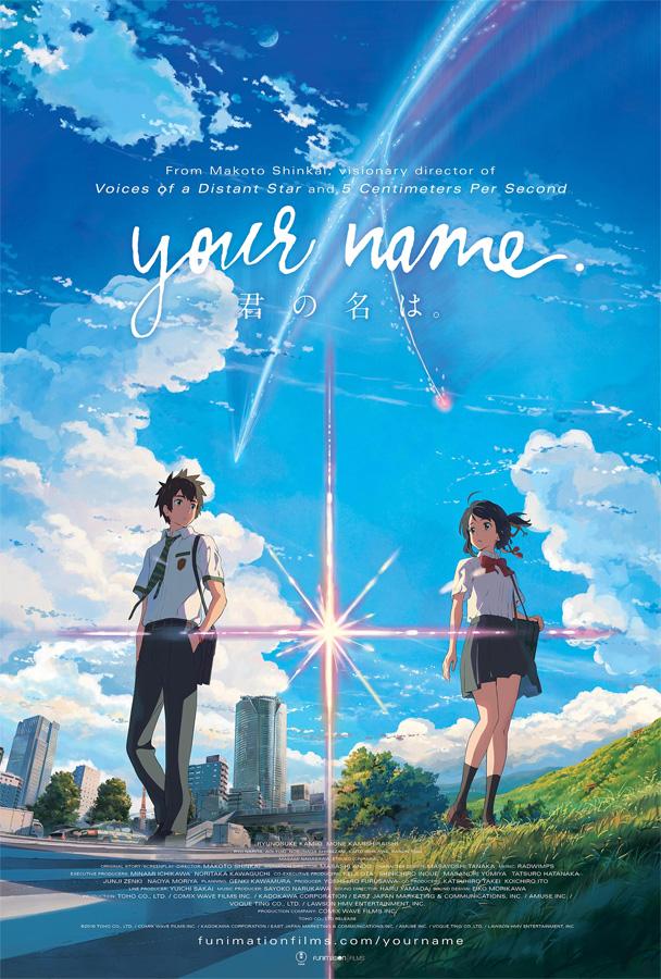 Der erfolgreiche Anime Film Your Name. startet am 11. und 14. Januar 2