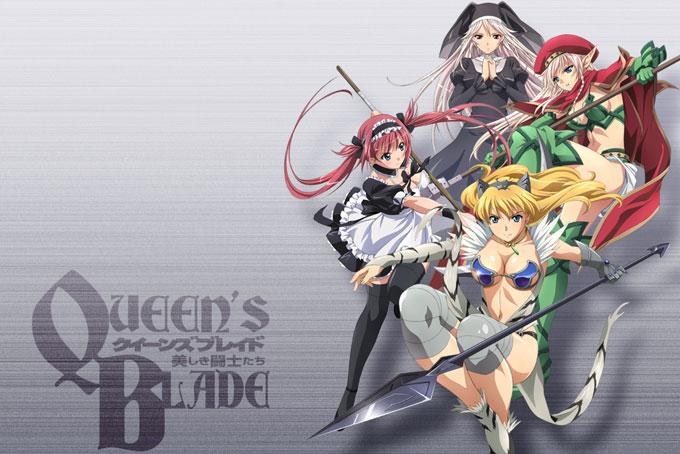 Am Japanischen Sender AT-X läuft die neue OVA zu Queen`s Blade