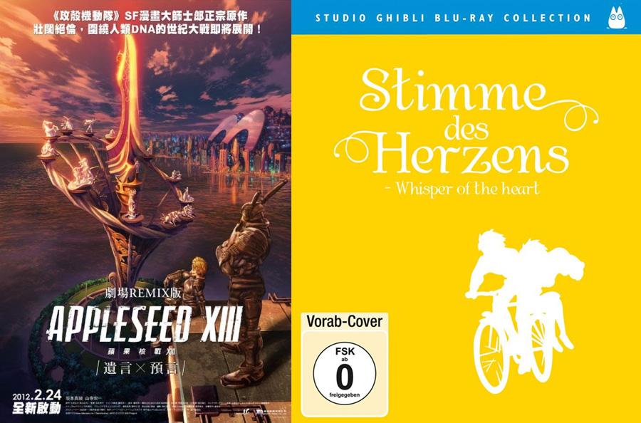 Universum Anime veröffentlicht neuen Appleseed XIII Film und Stimme d