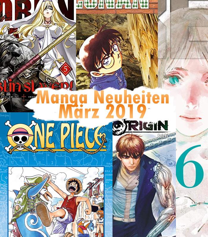 Manga Neuheiten für März 2019 u.a. von Altraverse, Carlsen, Tokyopop