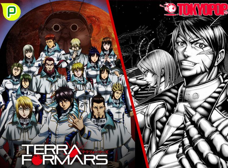 Turbulenter Kakerlaken Krieg - Anime/Manga zu Terra Formars erscheint