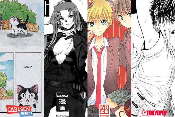 Juli 2014: Manga Monatsübersicht