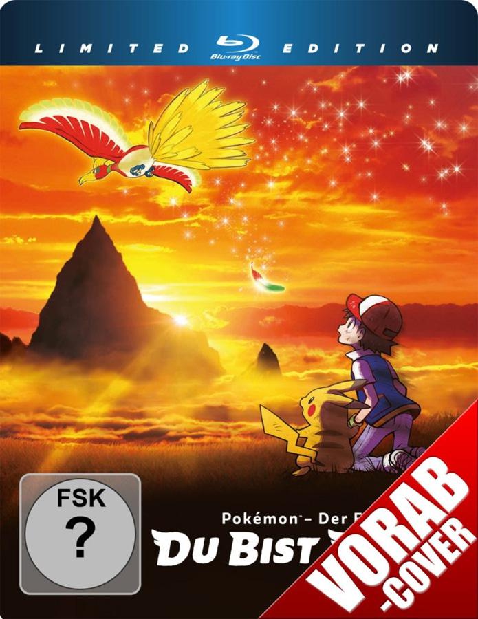 Pokemon - Der Film: Du bist dran! ab 17. August 2018 auf DVD sowie Blu