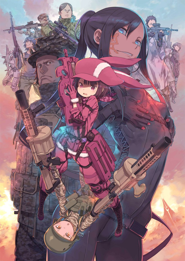 Die Spin-off Serie Sword Art Online Alternative: Gun Gale Online start