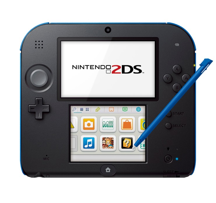 Aus Nintendo 3DS wird der Nintendo 2DS: Für Spieler ohne 3D Effekt