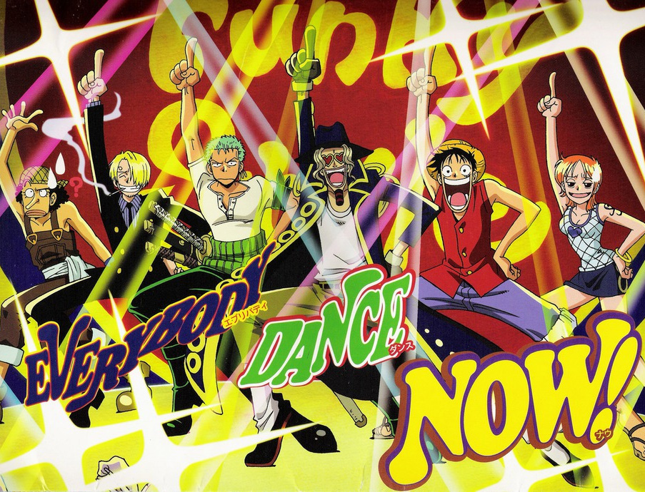 Sind alle One Piece Fans schon im Tanzfieber? One Piece Dance Battle u