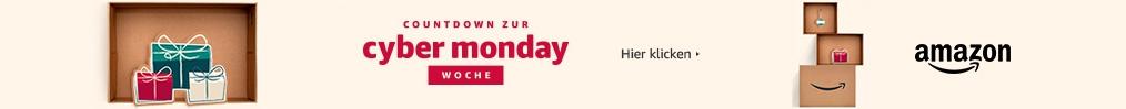 Countdown zur Cyber Monday Woche auf Amazon