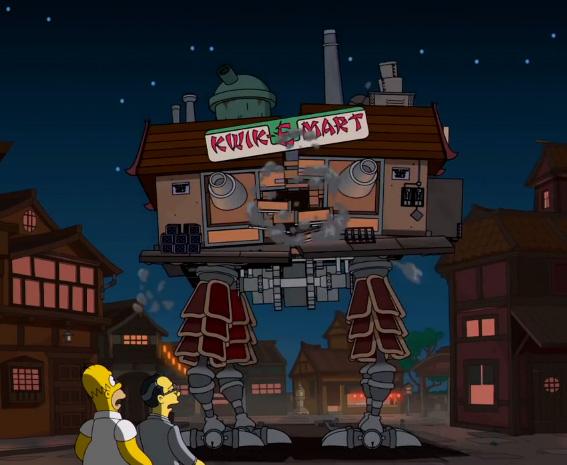 Die aktuelle, 540. Episode von den Simpsons ehrt Studio Ghibli und Hay