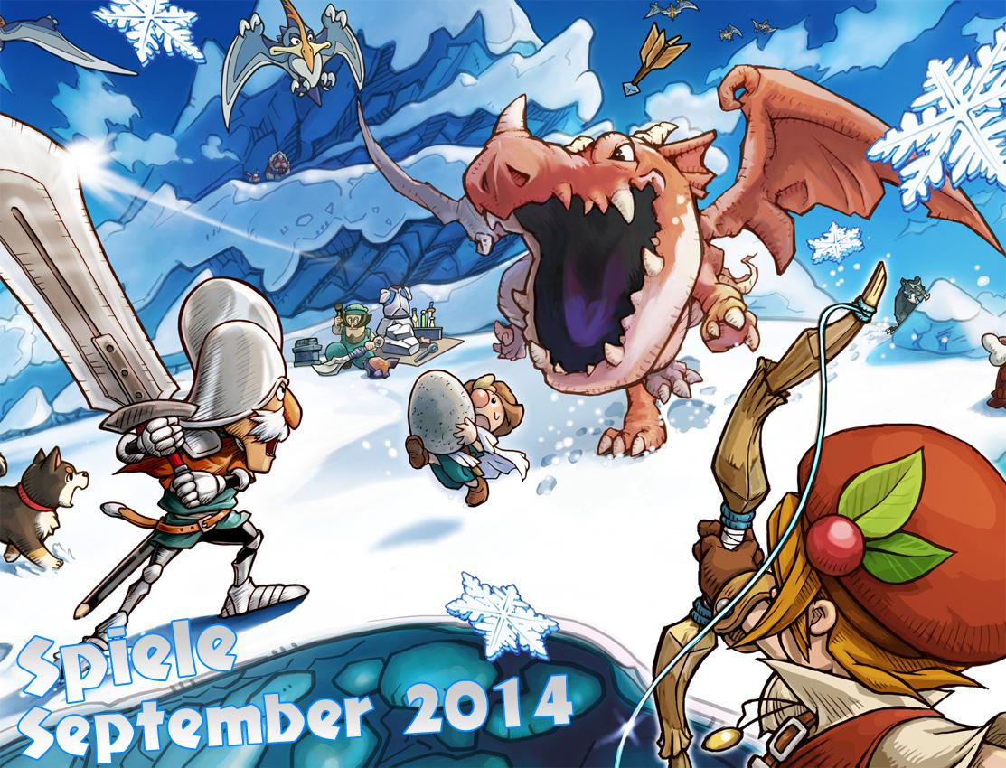 September 2014: Spiele Monatsübersicht