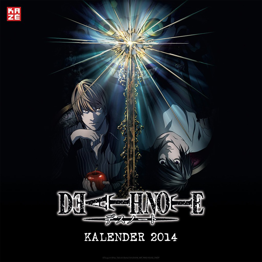 Death Note Wandkalender 2014