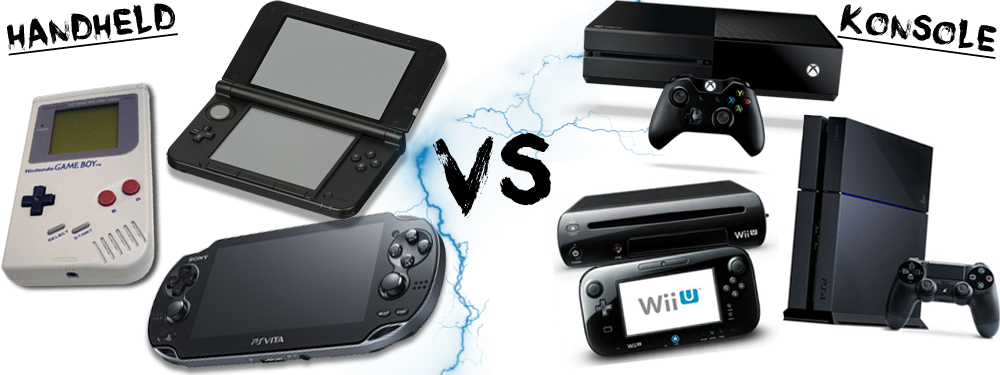 Handheld VS Konsole! Was ist euer Favorit?