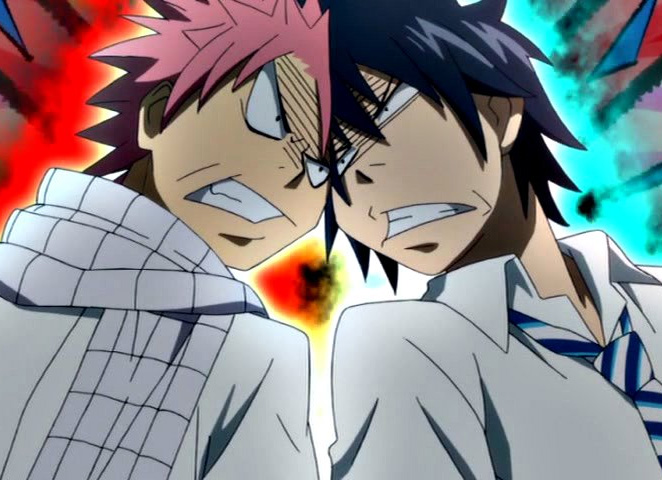 Special AnimeMusikVideo (AMV): Natsu VS Gray *Update*