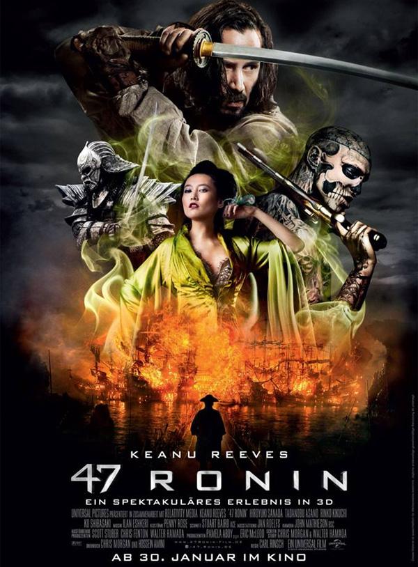 Der japanisch, politische Mythos 47 Ronin wird verfilmt und startet n�