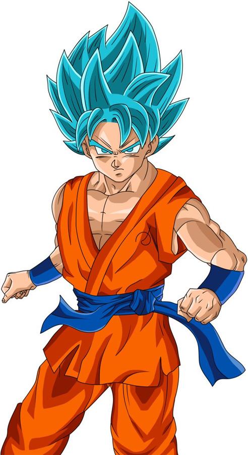 Son-Goku als SSGSS