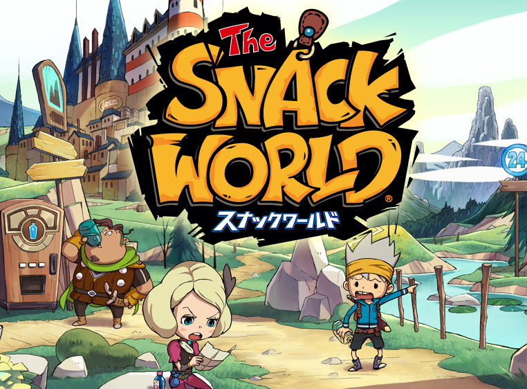 The Snack World - Neues Großprojekt von Level-5