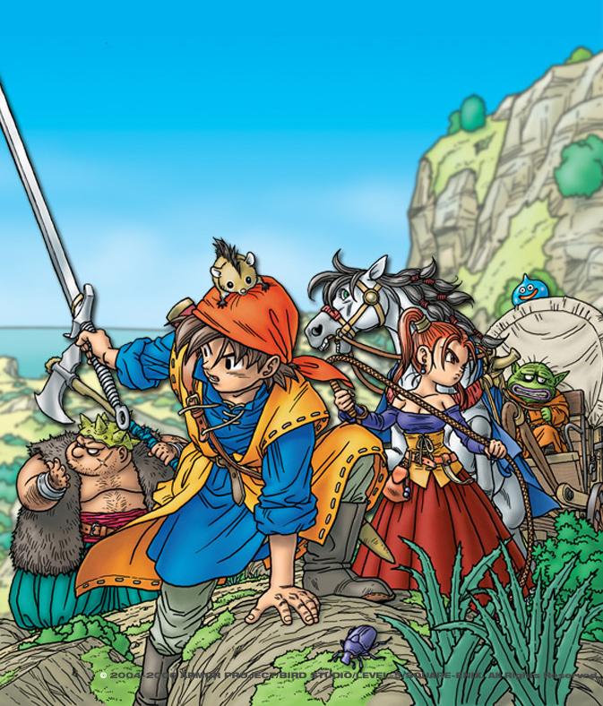Die Neuauflage Dragon Quest VIII erscheint im August 2015 für den Nin
