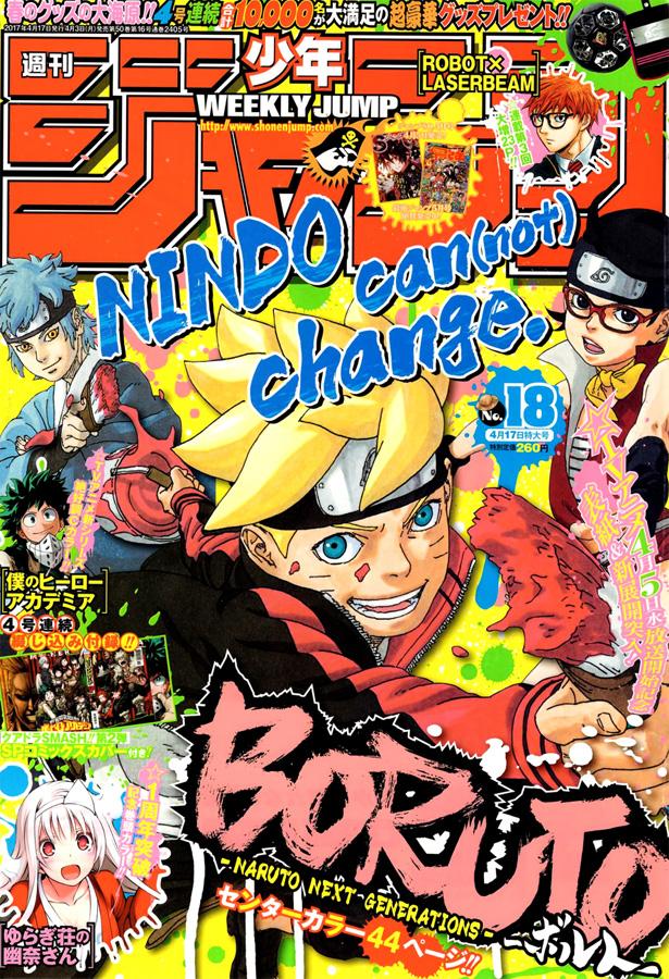 Weekly Shonen Jump TOC Ausgabe 18/2017 von Shueisha