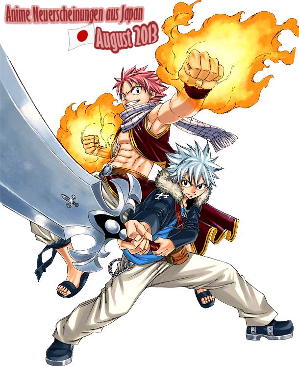 August 2013: Anime Neuerscheinungen aus Japan