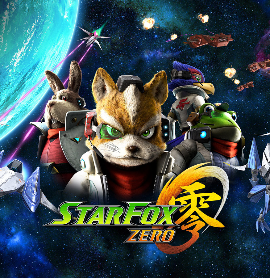 Ab April locken Star Fox Zero und Star Fox Guard mit Action und Abente