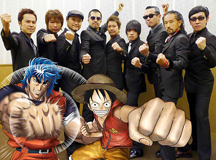 One Piece und Toriko in 3D