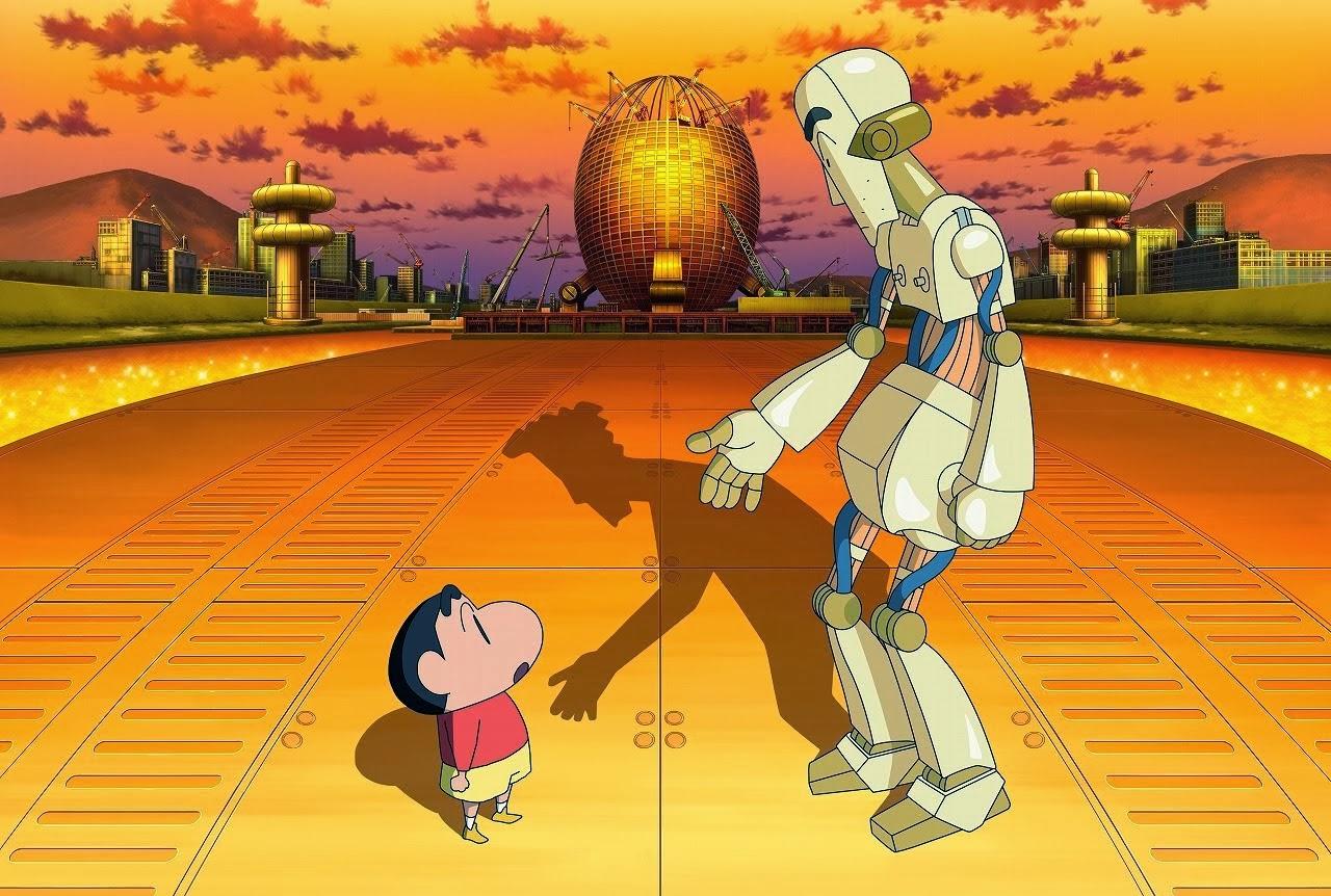 Eiga Crayon Shin-chan: Gachinko! Gyakushuu no Robo To-chan