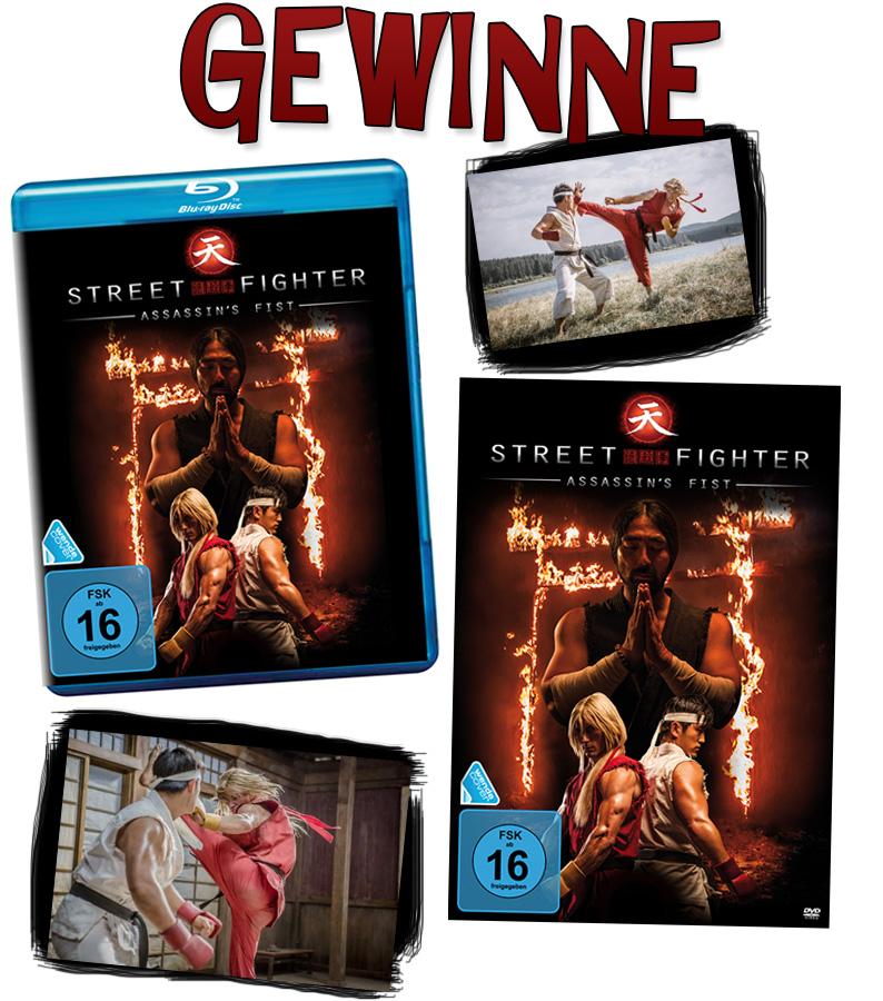 Gewinnspiel: Gewinne den Film Street Fighter - Assassin's Fist auf DVD