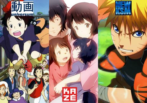 Juli 2013: Anime Monatsübersicht von Universum Anime, KSM und Kazé