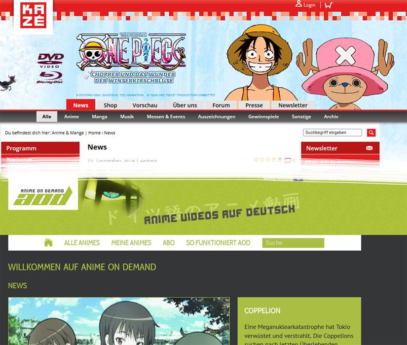 Drei neue Anime Simulcasts bei Kazé und Anime on Demand - Kantai Coll