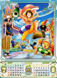 One Piece Kalender 2015