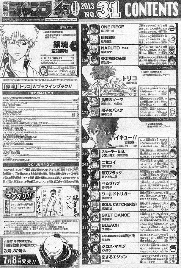 Weekly Shonen Jump 31/2013