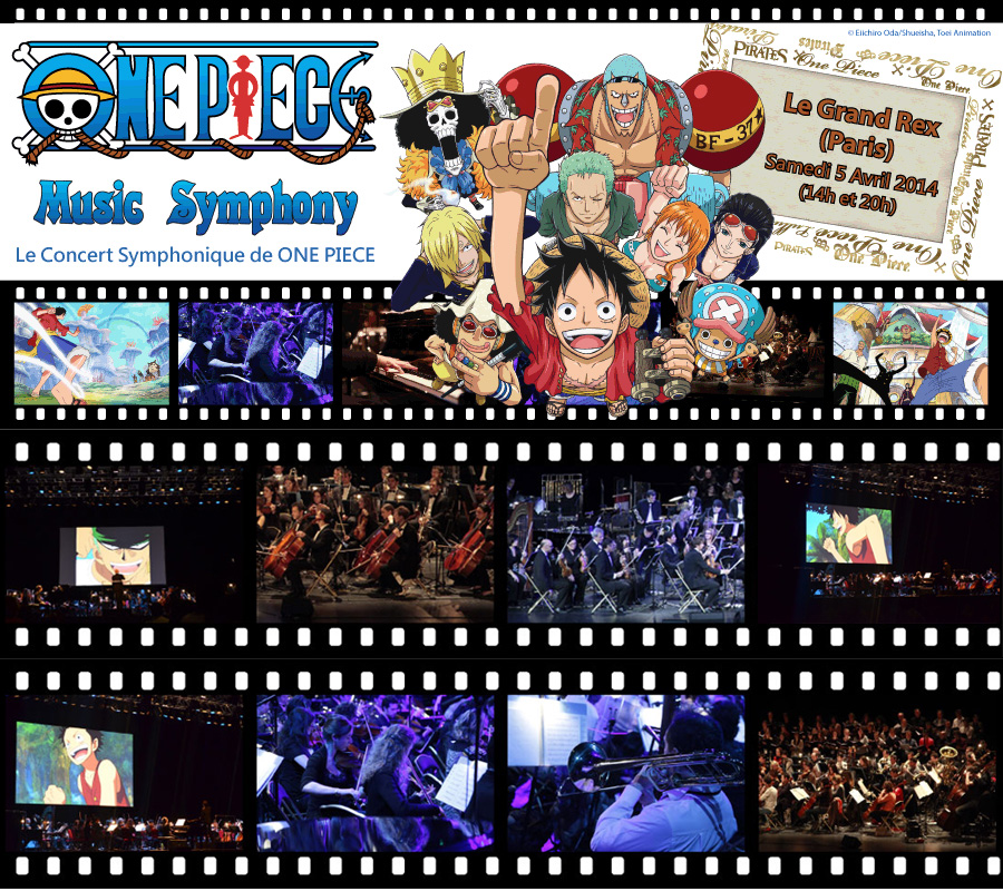 One Piece Music Symphony Konzert am 05. April 2014 in Paris