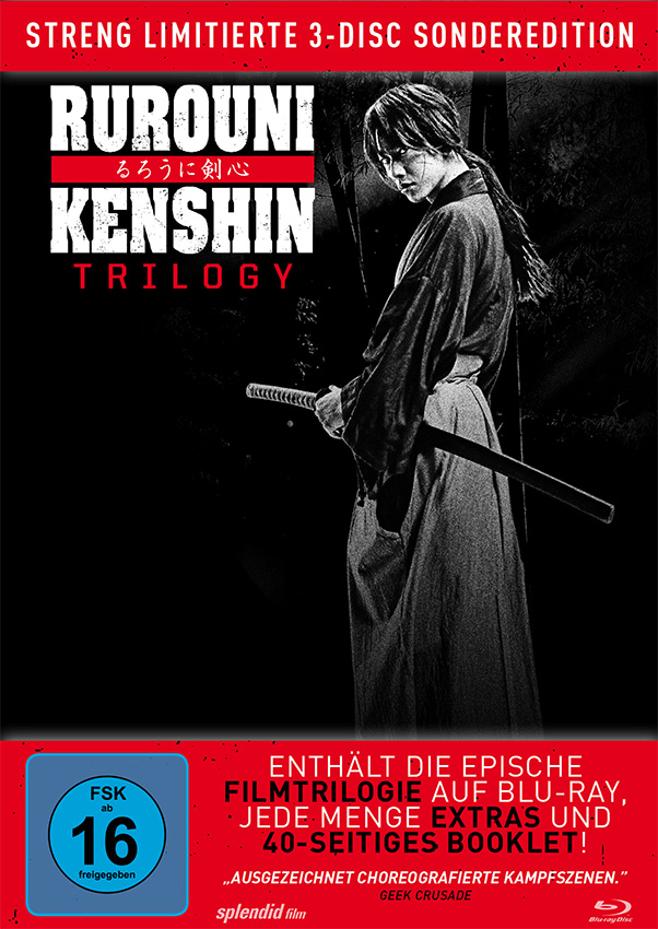 Mysteriös, dramatisch und actiongeladen - Die Rurouni Kenshin Trilogy