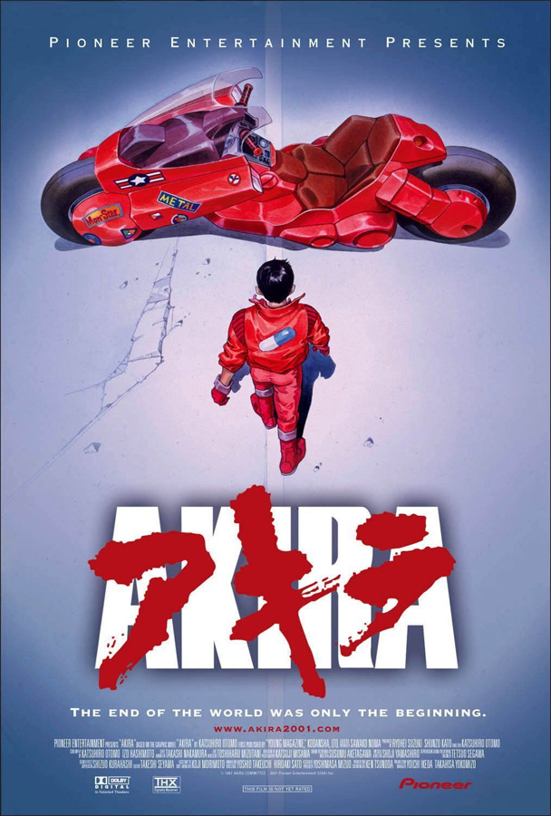 Akira Remake von Katsuhiro Ootomo - Noch 2014 auf DVD sowie Blu-ray be