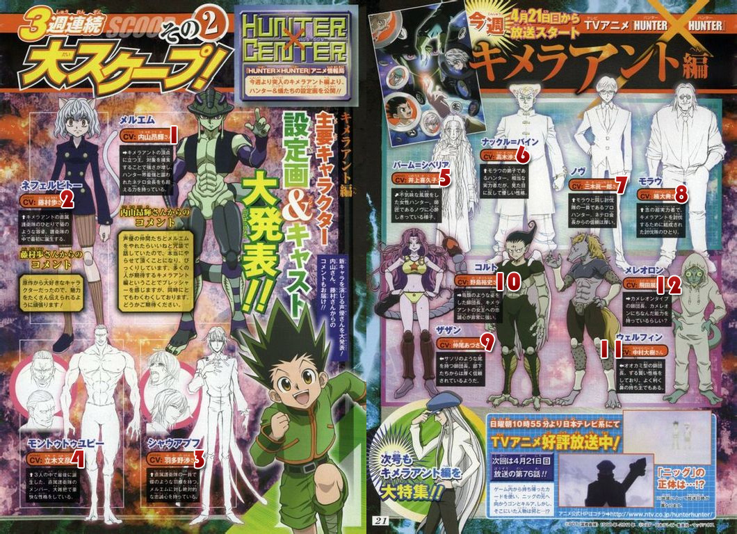 Hunter X Hunter Scan