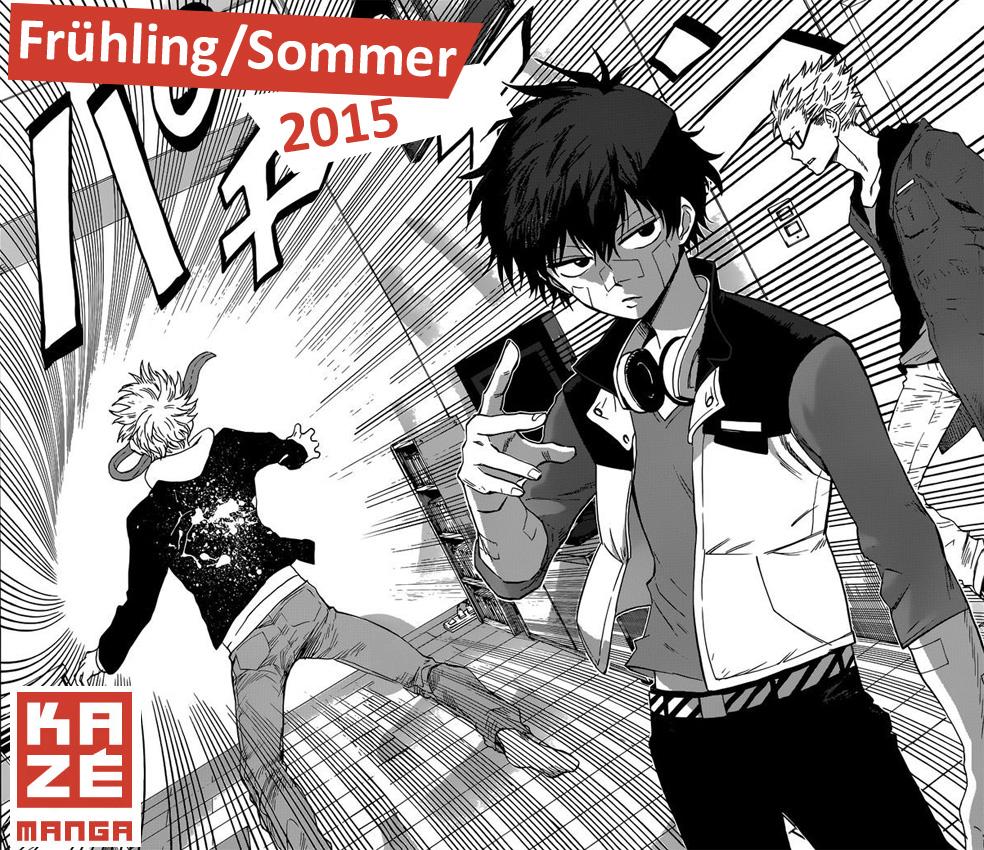 Kazé - Das Manga Programm für Frühling/Sommer 2015