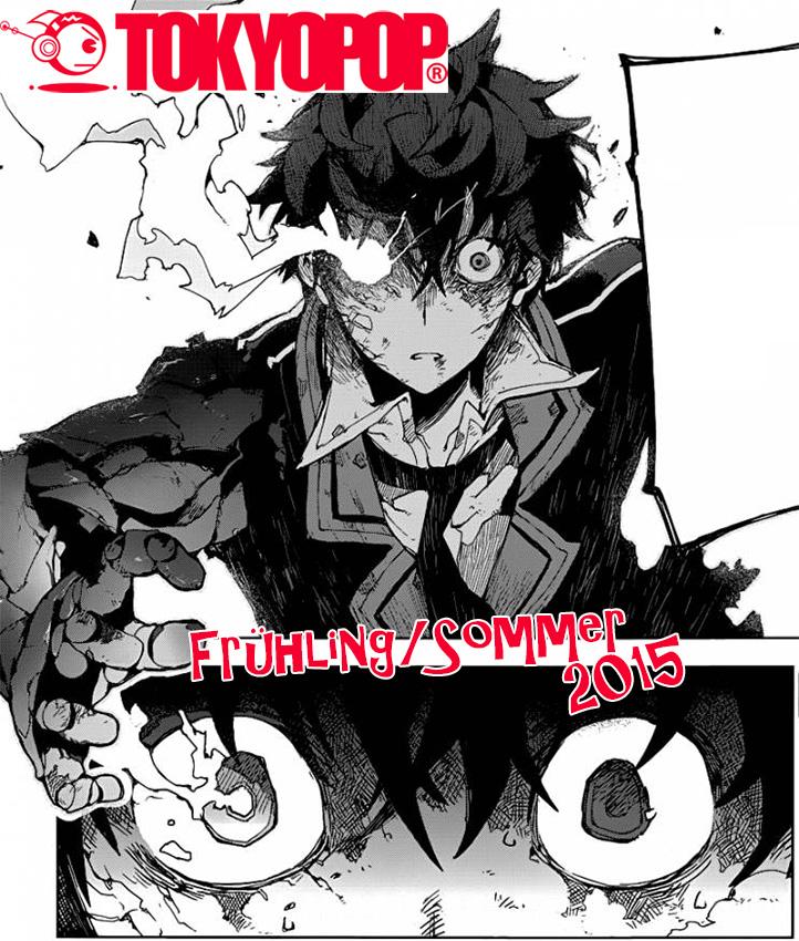 Tokyopop - Das Manga Programm für Frühling/Sommer 2015