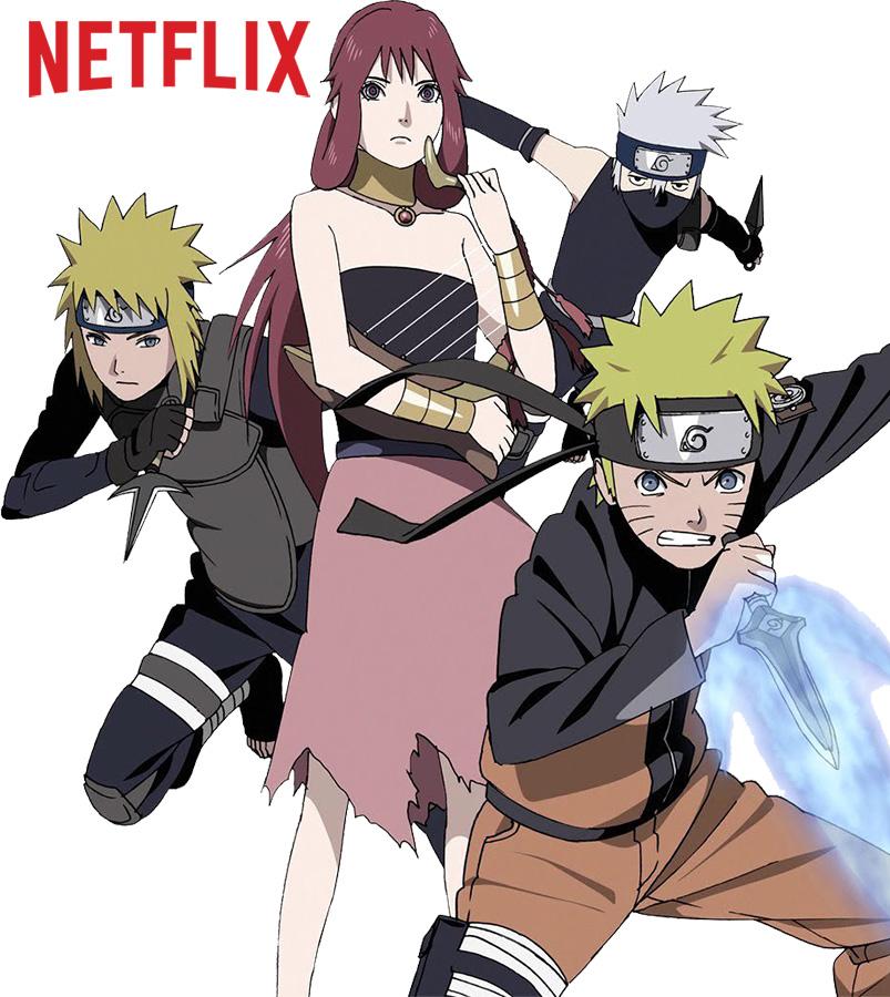 Alle Naruto Shippuden Filme ab sofort auf Netflix in Deutsch sowie auf