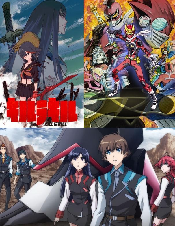 peppermint anime hat drei neue Serien für seinen Simulcast und zwar K
