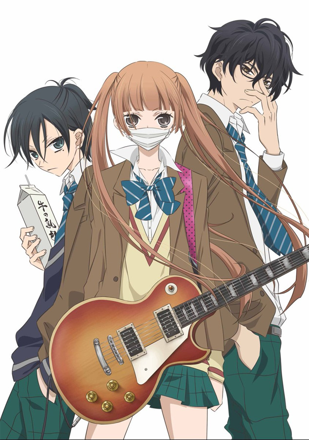 Anime TV-Serie Anonymous Noise ab August bei nipponart auf DVD sowie B