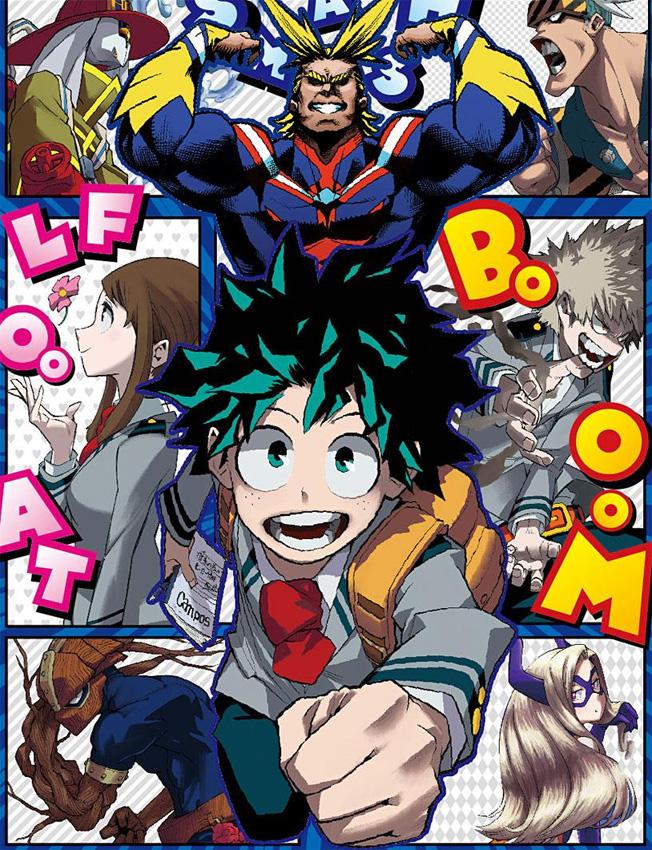 Anime zu My Hero Academia (Boku no Hero Academia) geht nach der 13. Ep