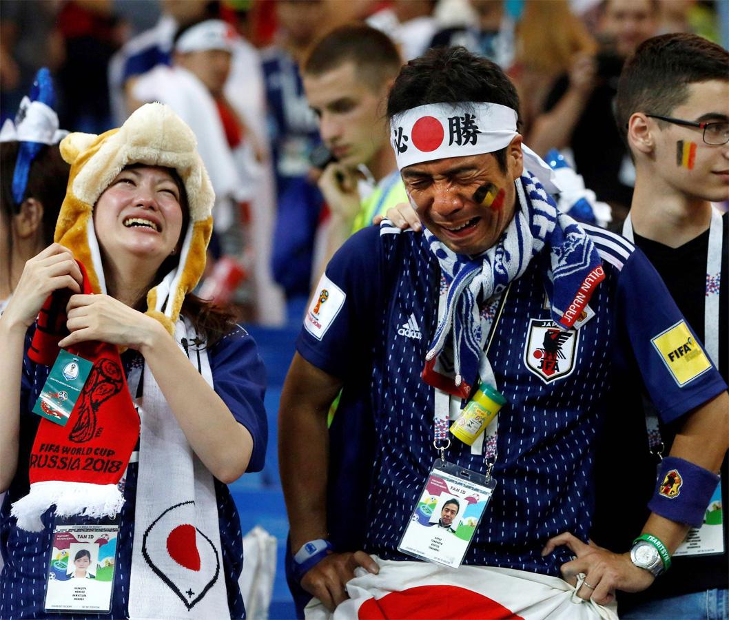 WM 2018 - Trotz der kurzen 2:0 Führung gegen Belgien ist Japan drauß