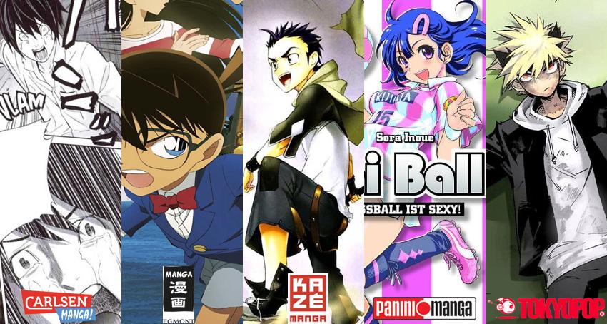 August 2015: Manga Monatsübersicht