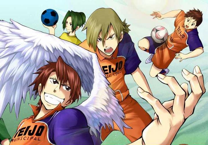 Ende der Manga Serie Light Wing (ライトウィング) im Weekly Shō