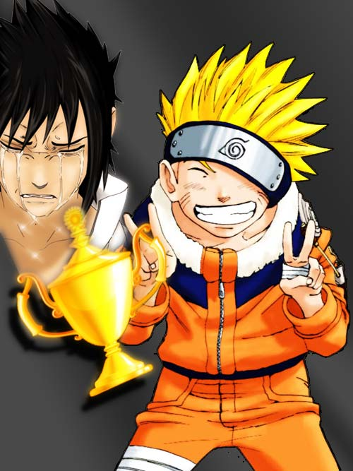 The winner is... NARUTO! Congratulation!