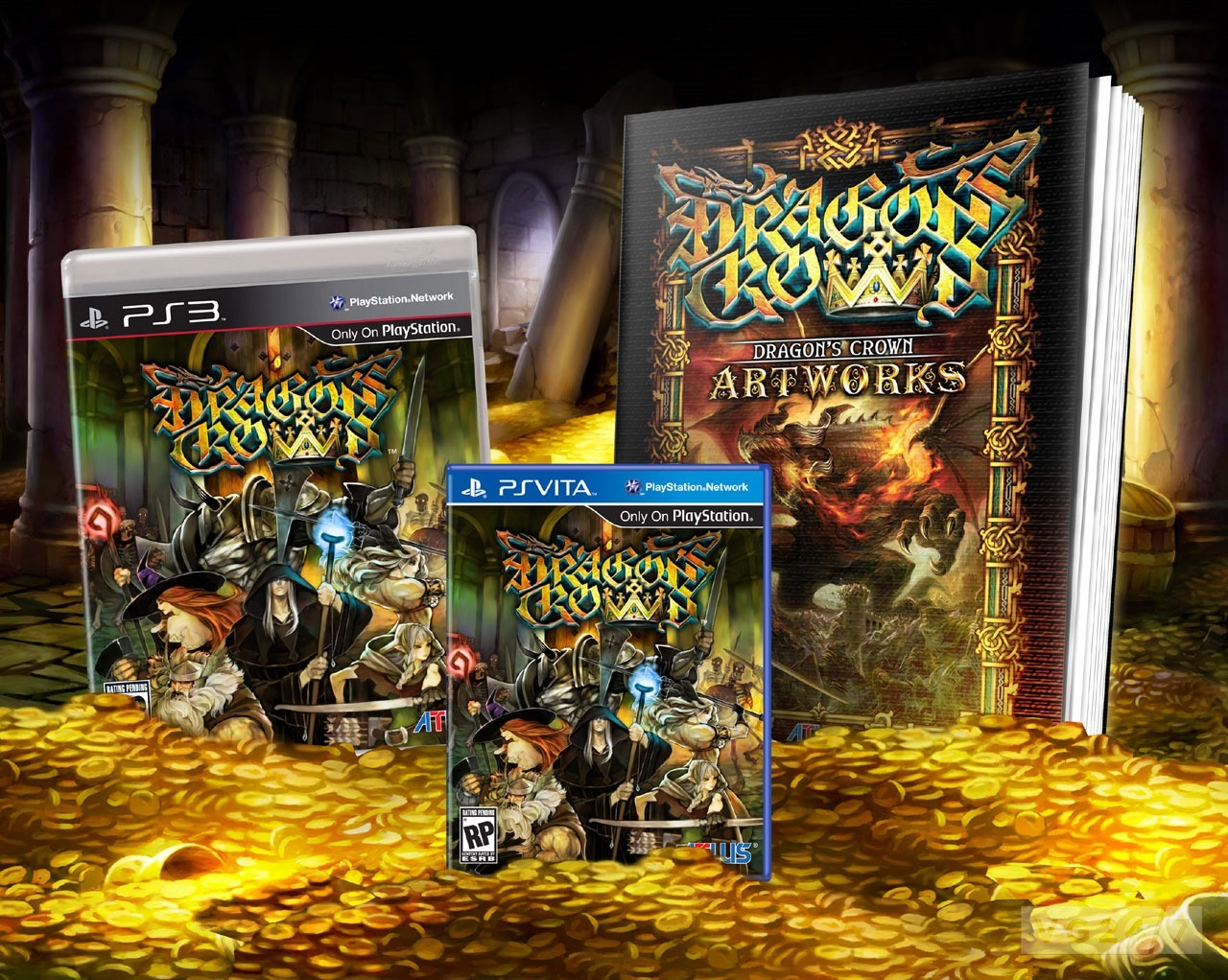 Dragon's Crown ab sofort für PlayStation 3 und PlayStation Vita im Ha