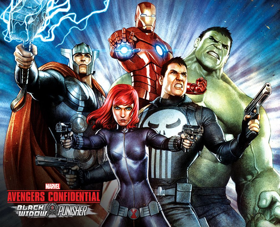 Avengers Confidential: Black Widow and Punisher wurde von Sony lizenzi