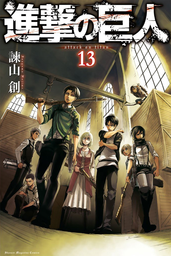 Attack on Titan (Shingeki no Kyojin) hat die 30 Millionen Grenze an ve