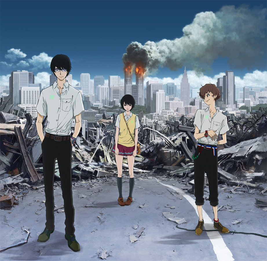 Terror in Tokio - Zankyou no Terror (Terror in Resonance) erscheint be