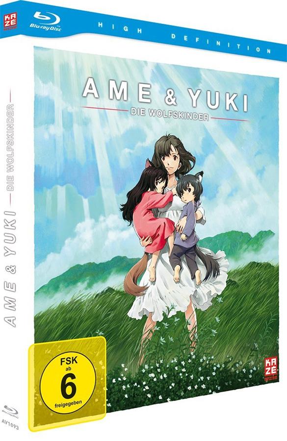 Ame & Yuki – Die Wolfskinder Blu-ray