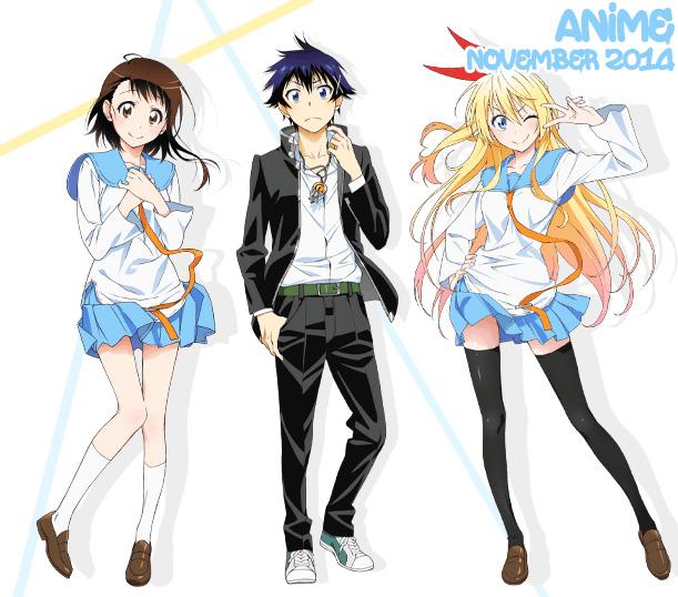 November 2014: Anime Monatsübersicht